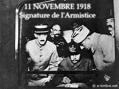 """Résultat de recherche d'images pour """"11 novembre 1918 signature de l'armistice"""""""