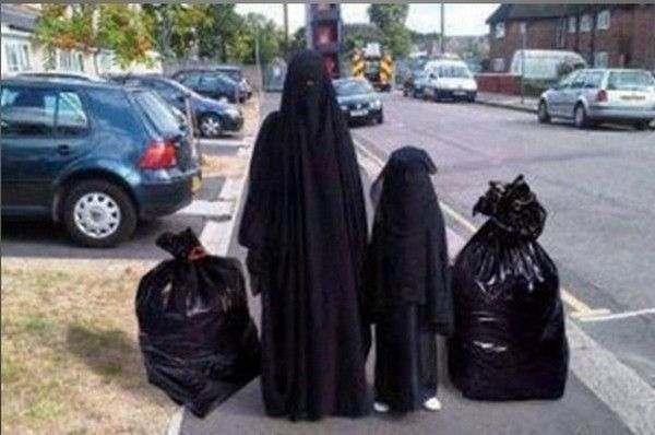Humour burqa