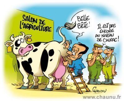 Nicolas sarkozy inaugure le salon de l 39 agriculture for Sarkozy salon agriculture