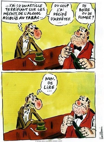 ALCOOL TABAC Un peu d'humour